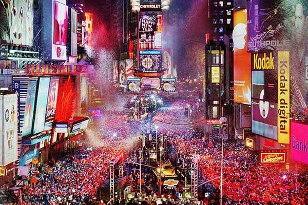 New Year s Eve   Times Square