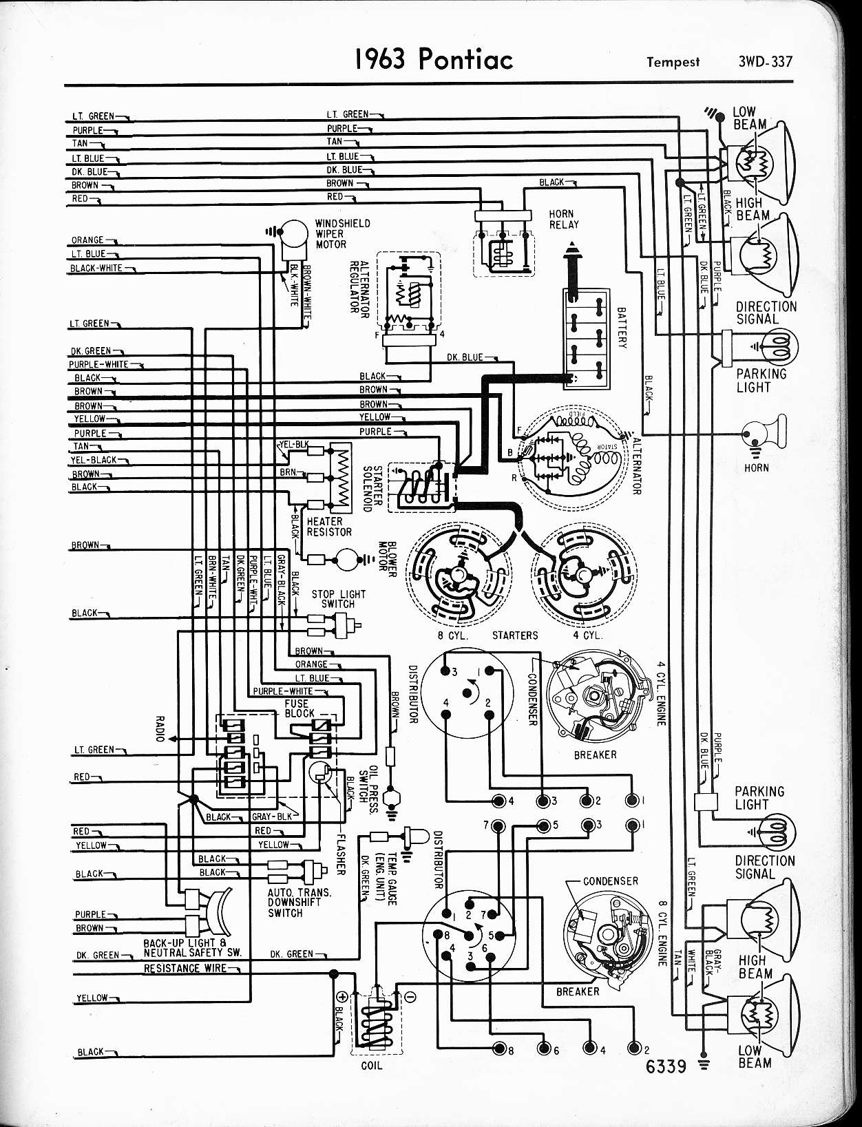 Wallace racing wiring diagrams rh wallaceracing 1965 pontiac gto pontiac starter wiring diagram
