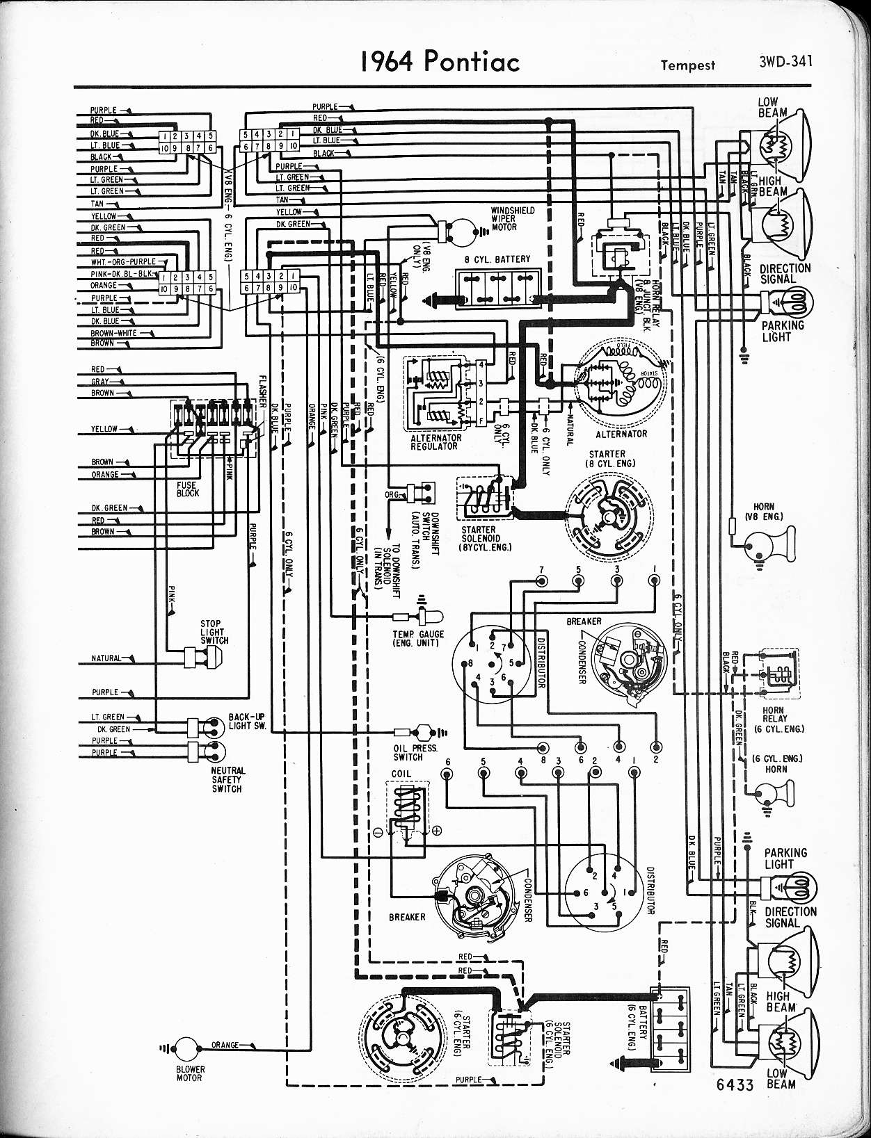 Wallace racing wiring diagrams rh wallaceracing 1966 gto wiring diagram 1966 pontiac catalina wiring diagram