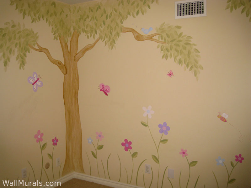 Girls Room Wall Murals Wall Murals For Girls Wall