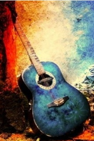 Download Guitar Abstract Iphone Wallpaper For Your