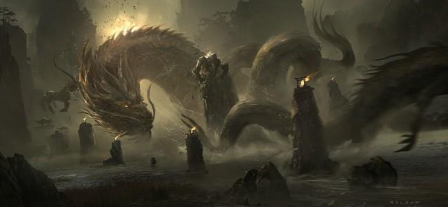 Head Art Dragon Images