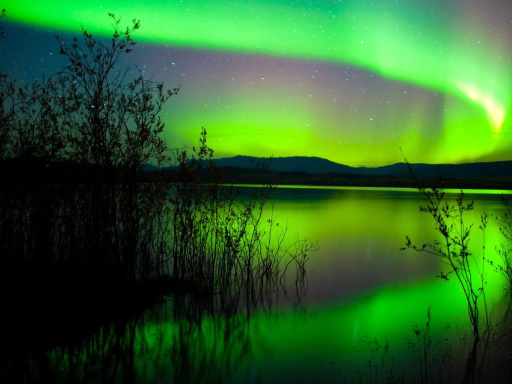 Northern Lights July Canada