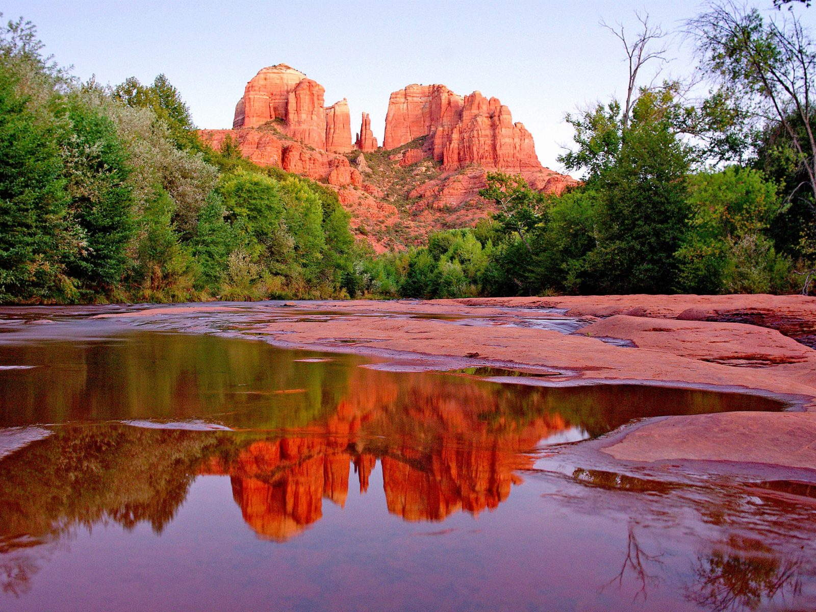 Red Cathedral Red Rock Crossing Sedona Arizona United