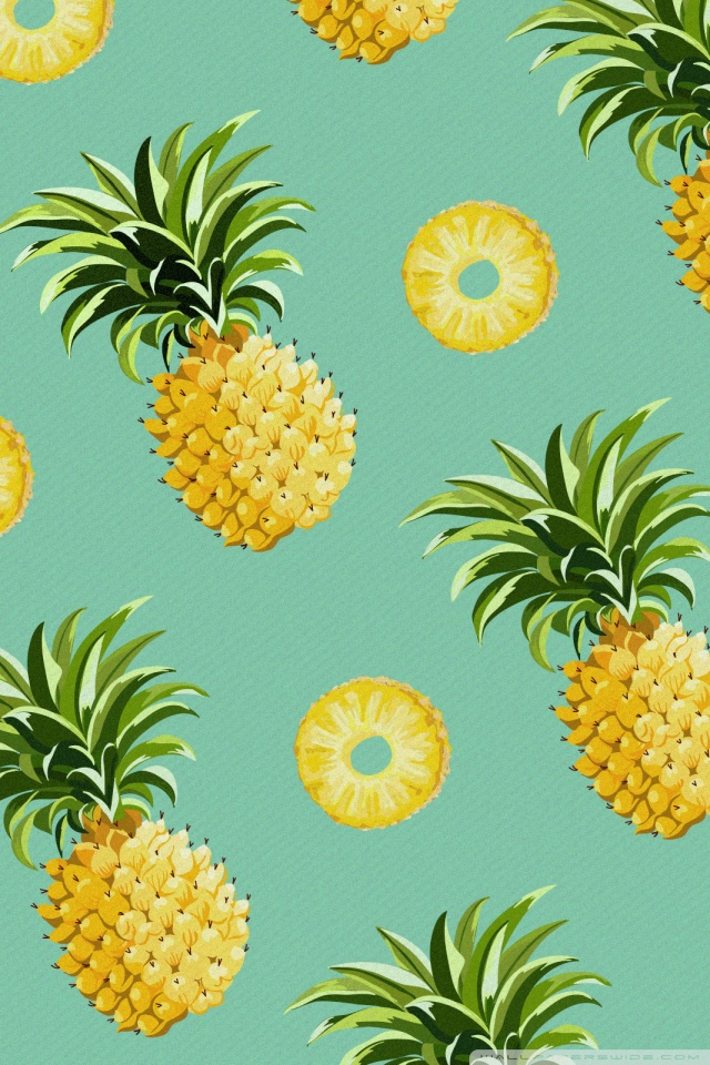 Pineapple Computer Background
