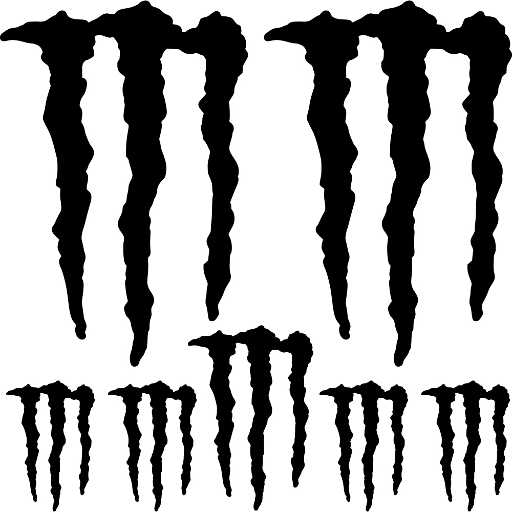 Monster Energy Wall Stickers