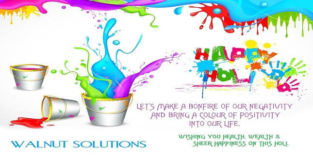 Wishing You A Happy Holi !