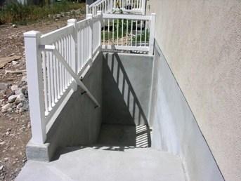 Basement Walkouts Orem Utah Walrap Unlimited Concrete Specialists | Precast Basement Stairs Cost | Basement Egress | Bilco Doors | Bulkhead | Egress Window | Finished Basement