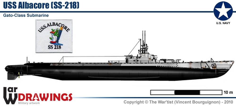 Ww2 Gato Submarine Diagram
