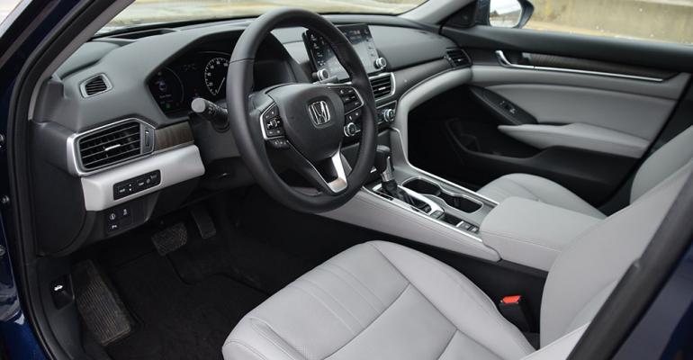 Honda Accord Interior Color It A Worthy Also Ran Wardsauto