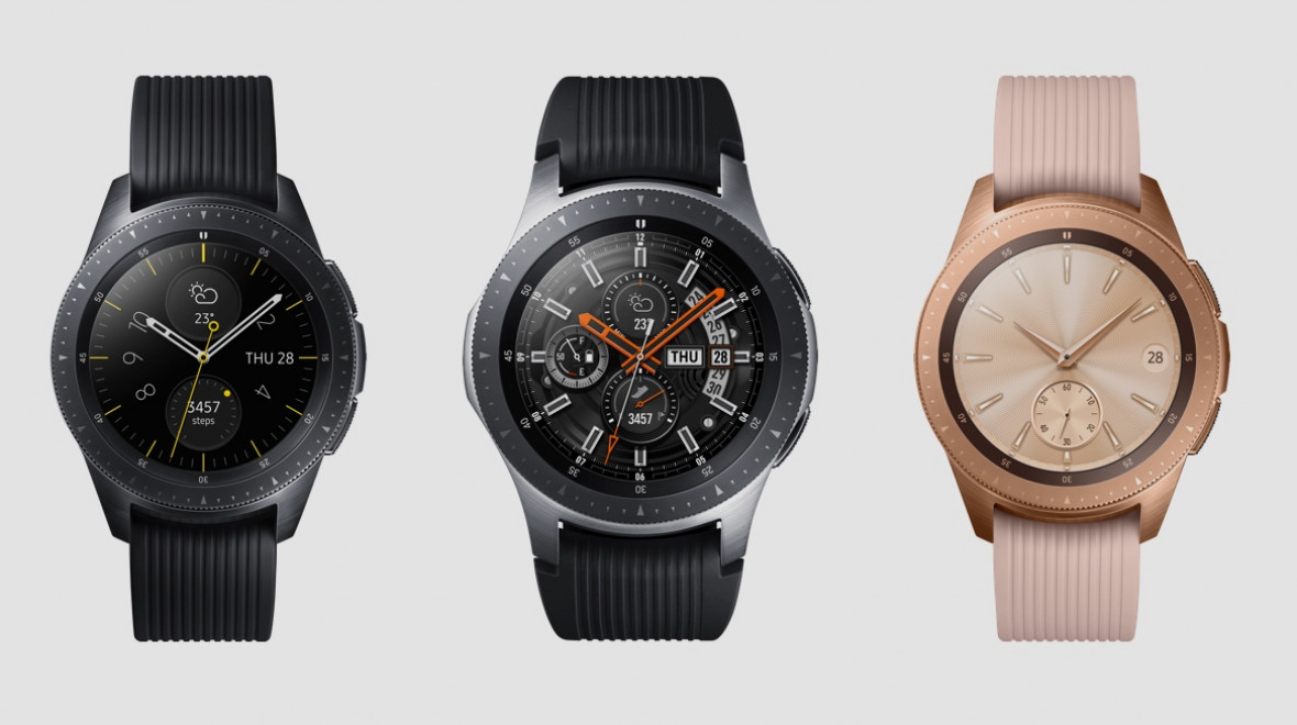 Samsung Galaxy Watch goes solo with seven-day battery life ...