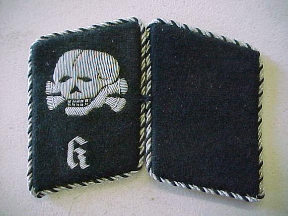 Help I Need Some Guidance On Ss Totenkopf Collar Tabs