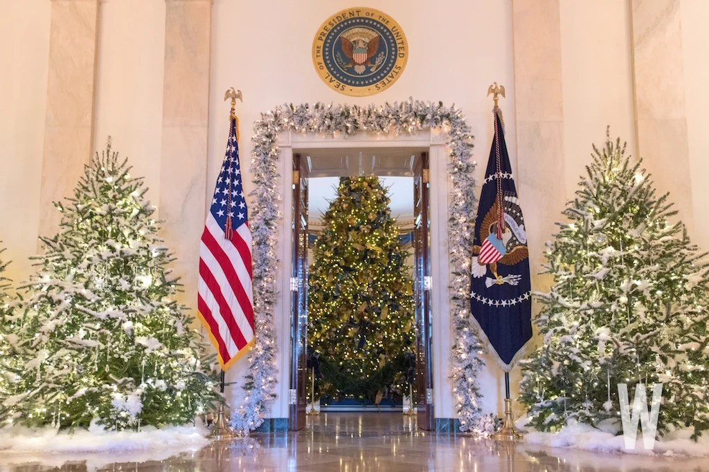 Trump Decorating White House