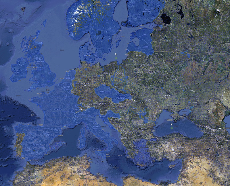 Our Digitized Earth: A world map of Google Street View ...