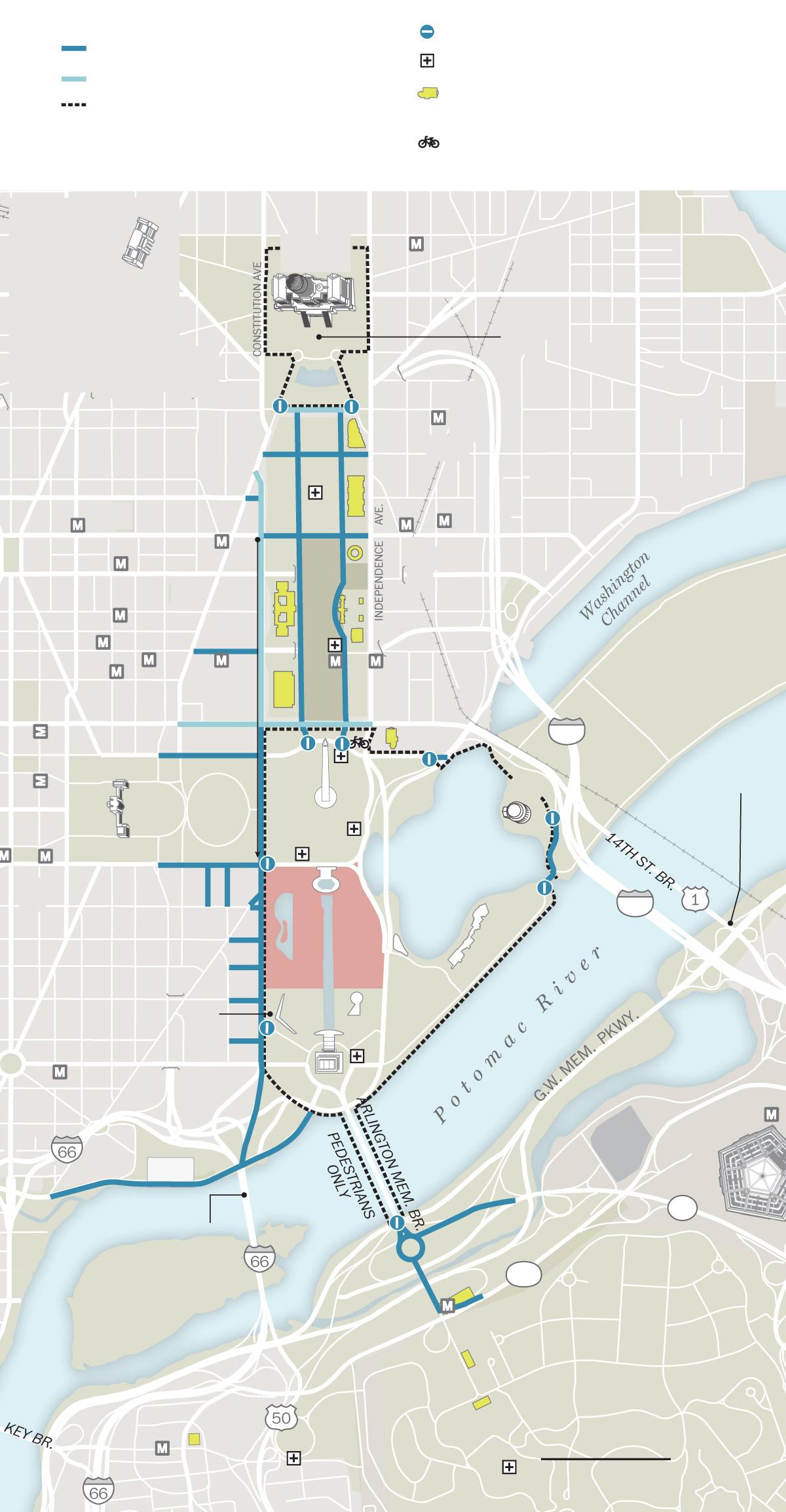 Washington Dc Freemason Street Layout Washington Dc Map Path