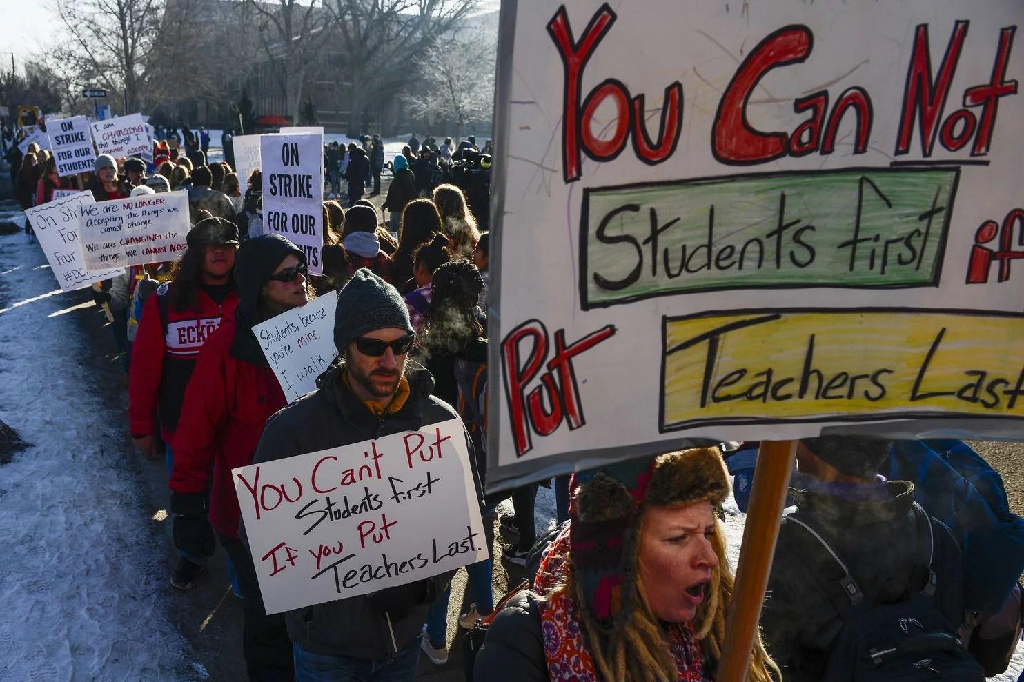 'Performance pay' drove Denver teachers to strike -- and ...