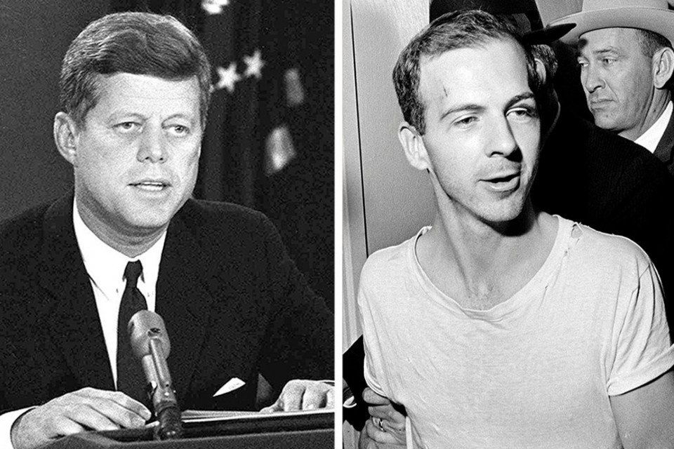 JFK assassination files  Was Lee Harvey Oswald a CIA agent    The     President John F  Kennedy  left  was assassinated on Nov  22  1963  by Lee  Harvey Oswald  a former Marine who was killed two days later by nightclub  owner