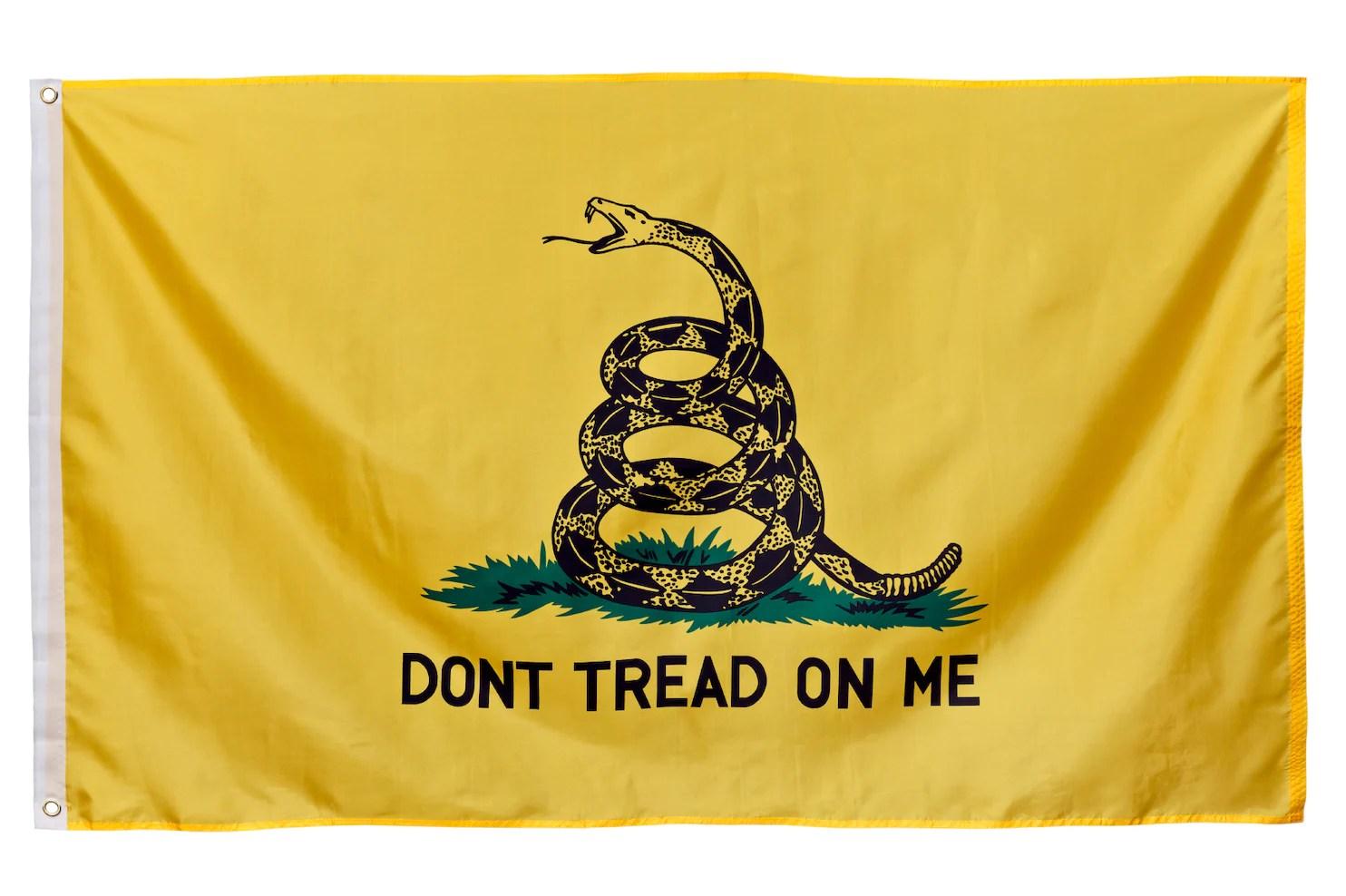 Tread Me Confederate Dont