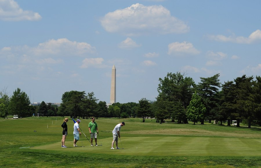 An upscale future pondered for D C  s proletarian public golf     An upscale future pondered for D C  s proletarian public golf courses   The  Washington Post