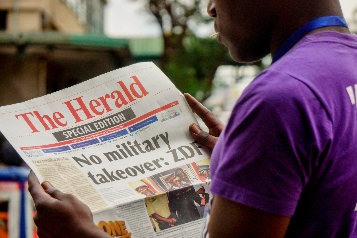 Suddenly, Zimbabwe's biggest newspaper can print exactly ...