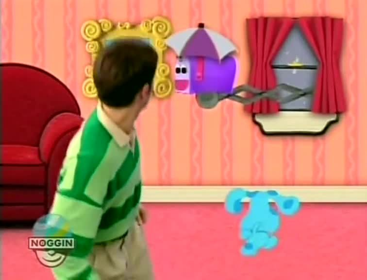Blues S Two Clues Surprise Dvd Clock O Blue