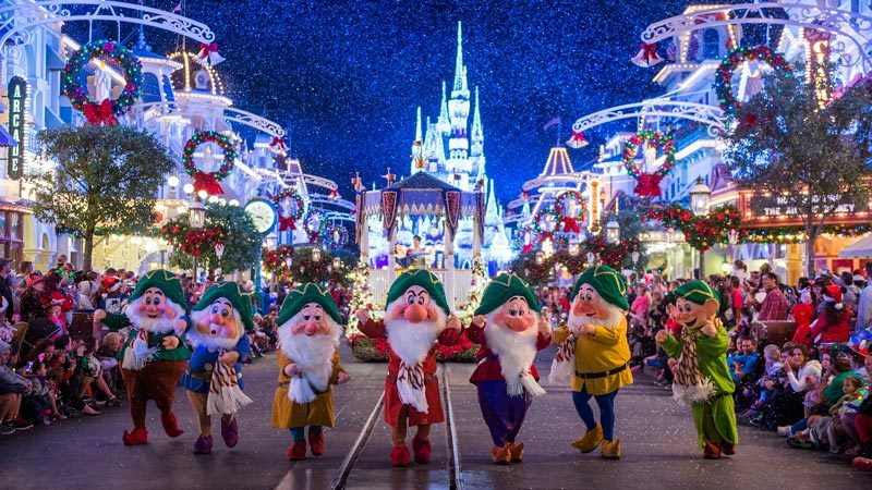 Magic Kingdom Mickey Christmas Party