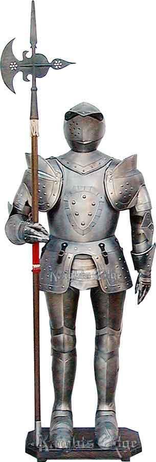 16th Century Suit of Armor, Decorative - KE-6009
