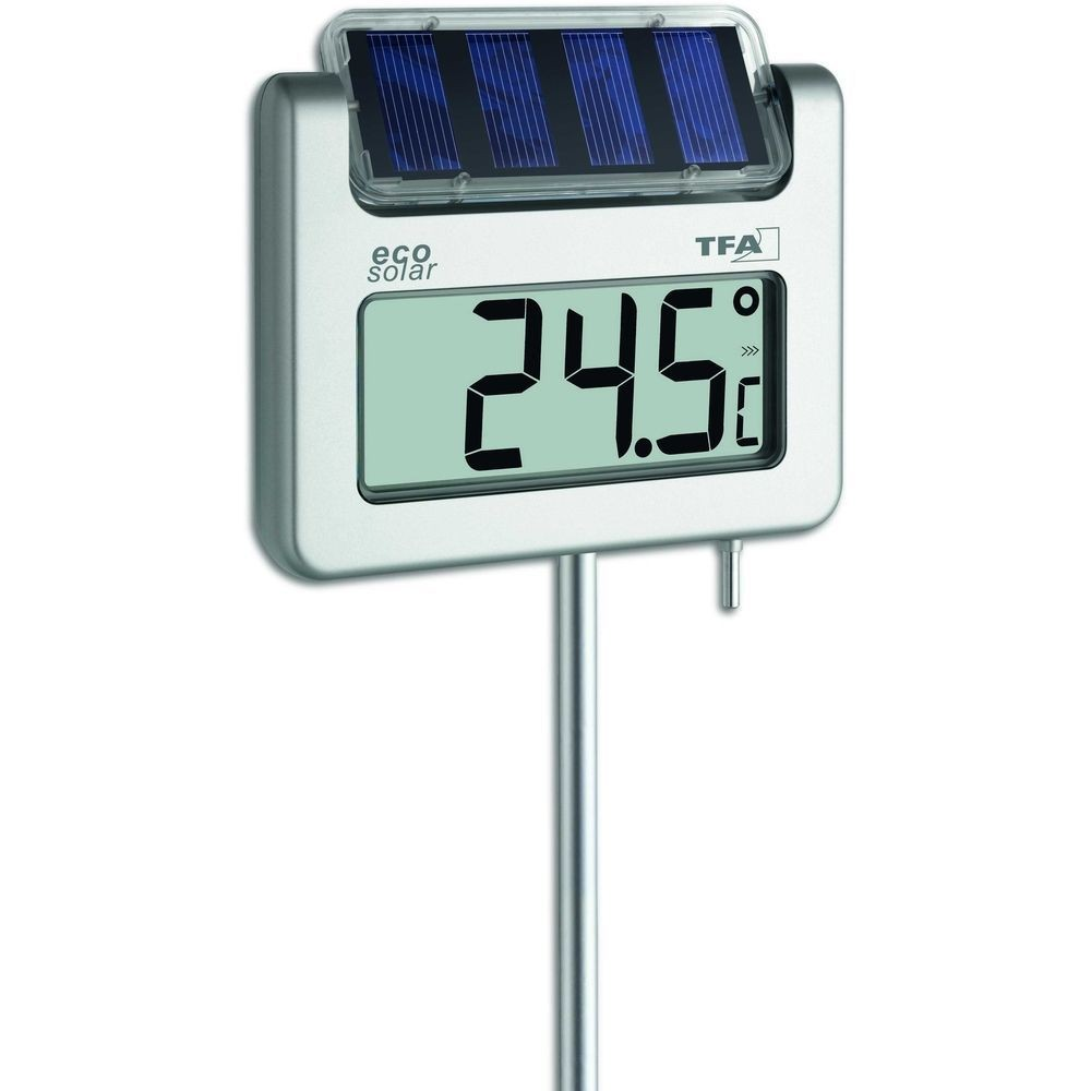 Large Digital Thermometer Display