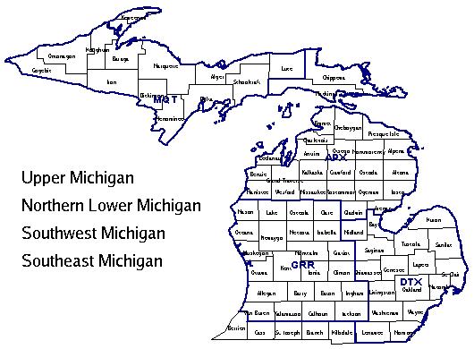 Southeast Michigan Zip Codes