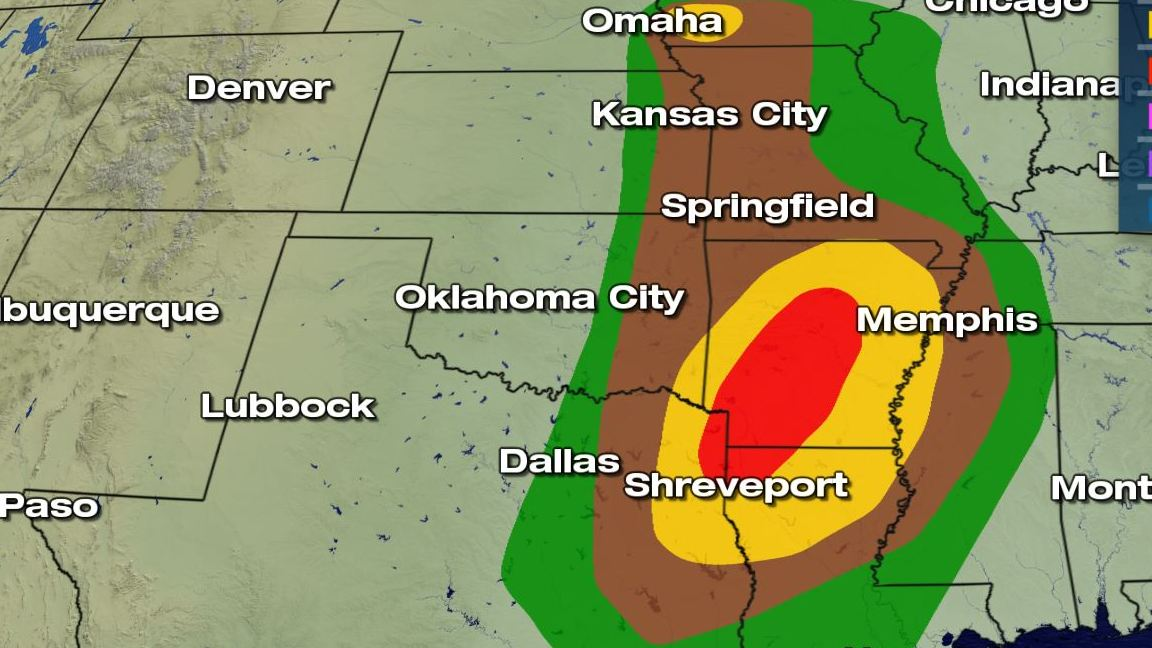 HD Decor Images » Moderate Risk for Severe Weather for Friday   WeatherNation Severe Weather Risks