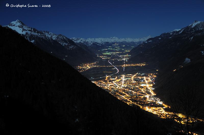 Paysages D Hiver Photographies De Nuit Dans Les Alpes Par
