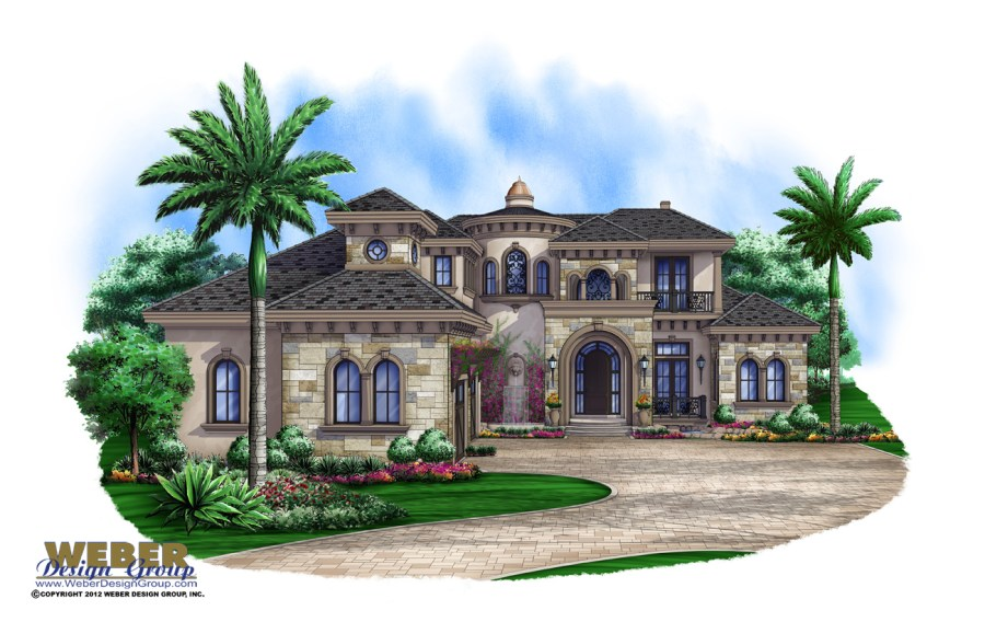 Dream House Plans  Find the Home Floor Plan of Your Dreams Castello di Amoroso