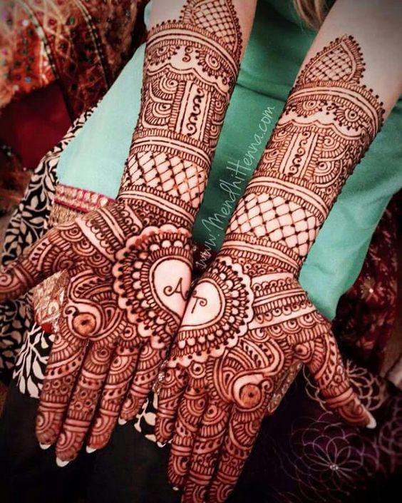 Simple Henna Sleeve Tattoo Designs