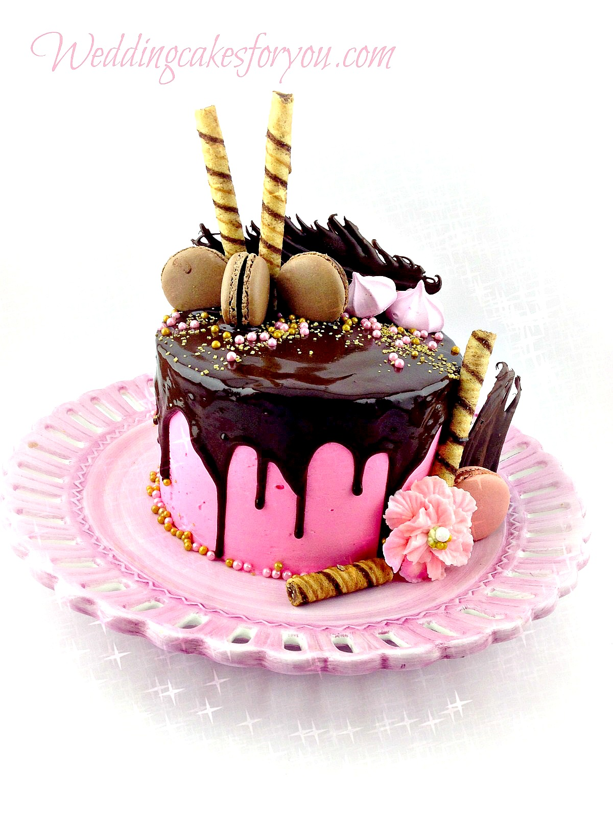 Easy Cake Decoration At Home