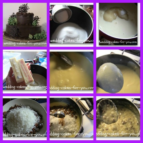 Cake Filling Recipes For Amazing Wedding Cakes German Chocolate Filling