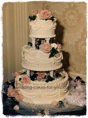 Old fashioned cakes and fillings