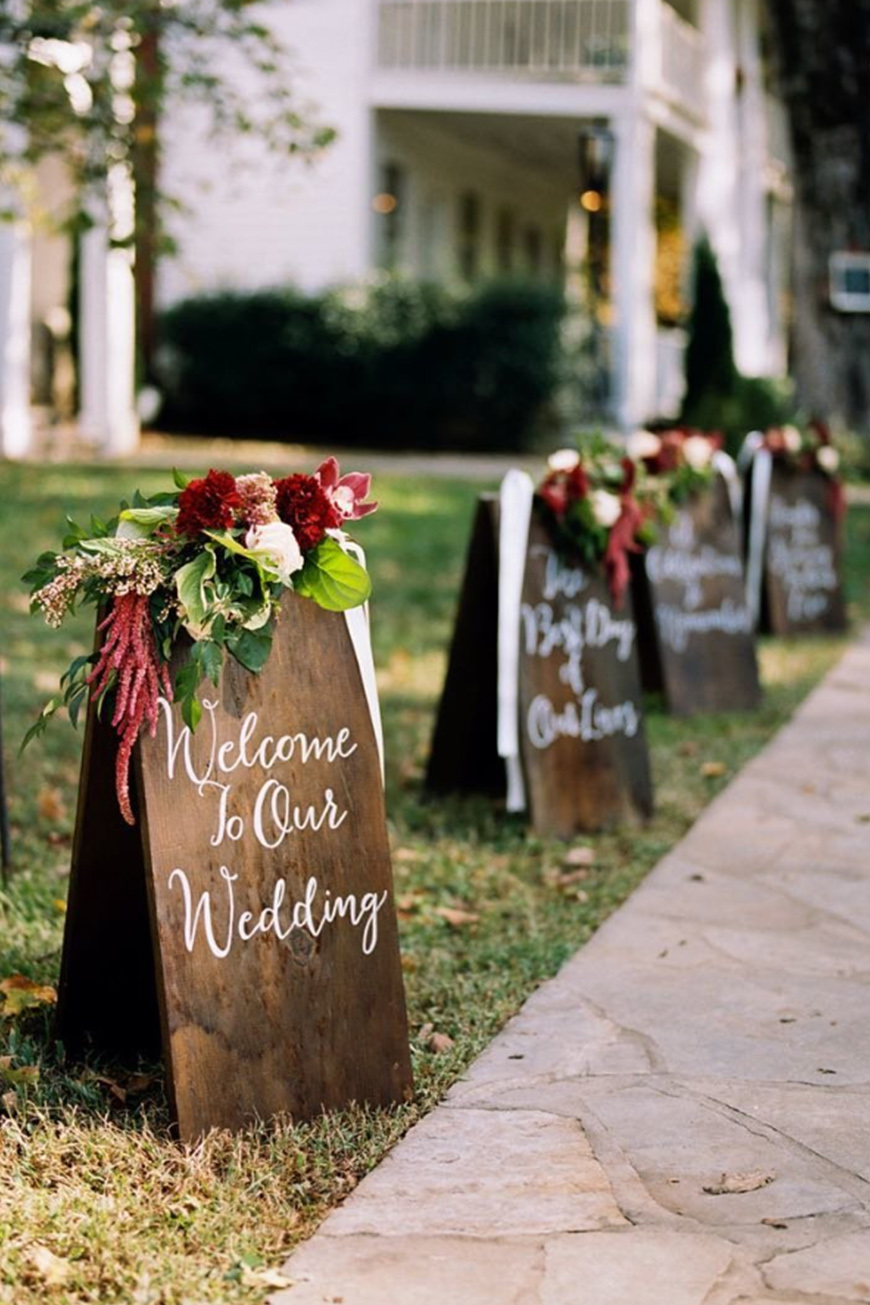 Burgundy Wedding Theme Wedding Ideas By Colour Chwv