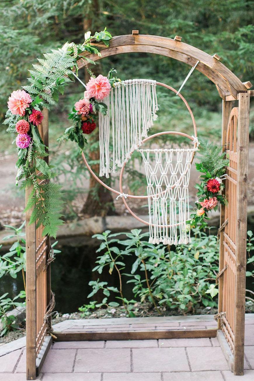 Boho Wedding Trends Macram 233 Chwv