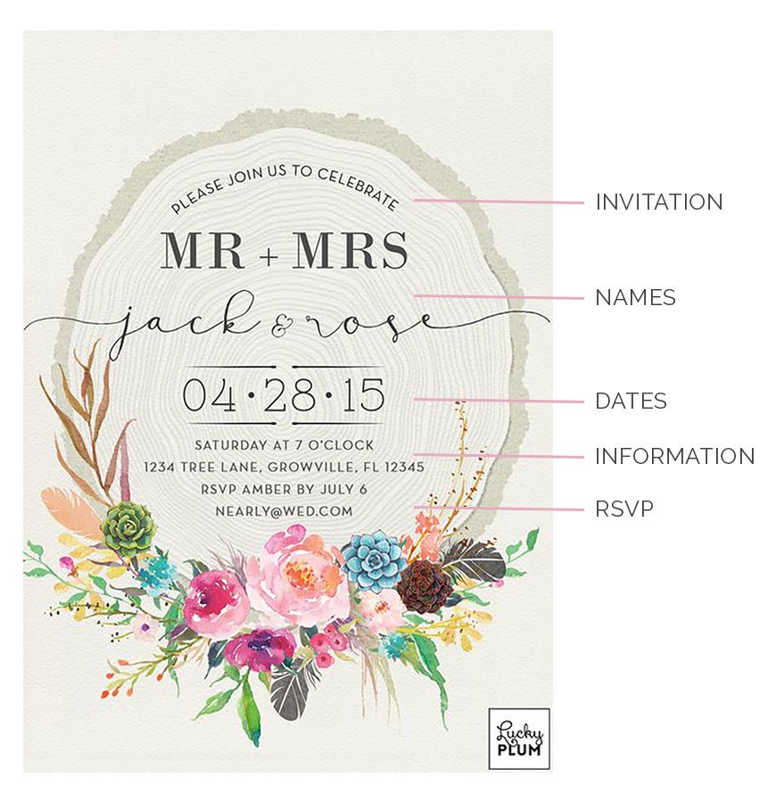 Bride Invitation Wordings Marriage