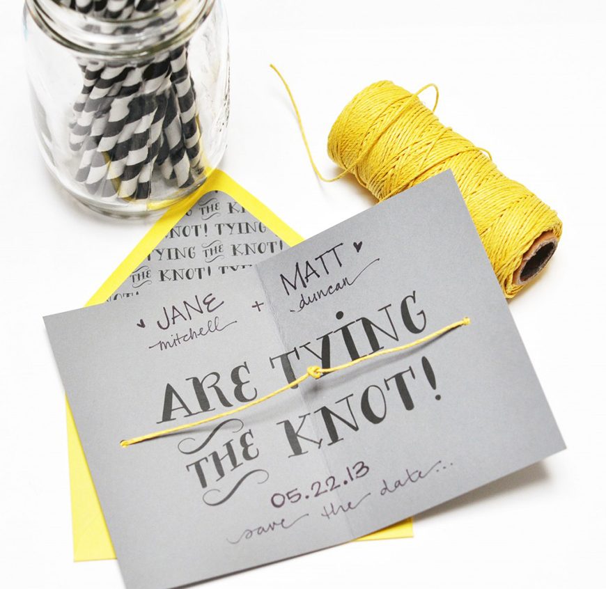 Quirky Save Date Cards Uk