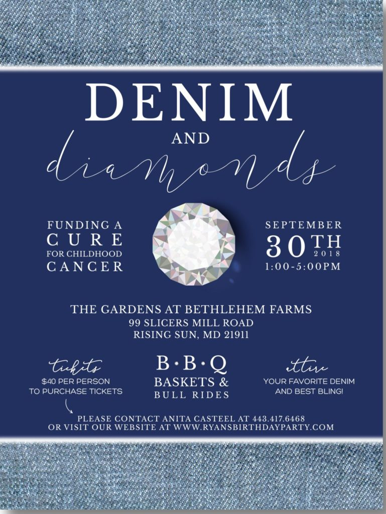 Denim Amp Diamonds Fundraiser To Support Kids With Cancer Wedding411 On Demand
