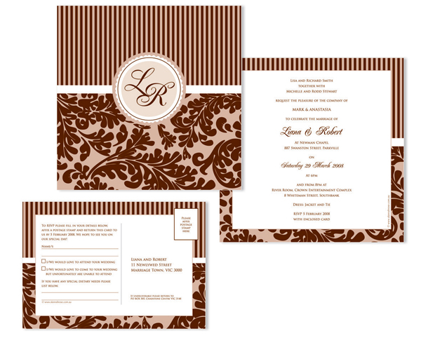 Cheap Thermography Invitations