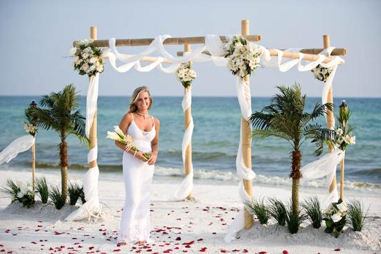 Beach Wedding Updos