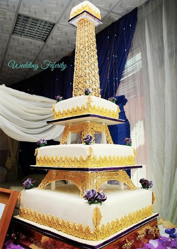 Nigerian Wedding Cakes Ideas For 2015 Weddings