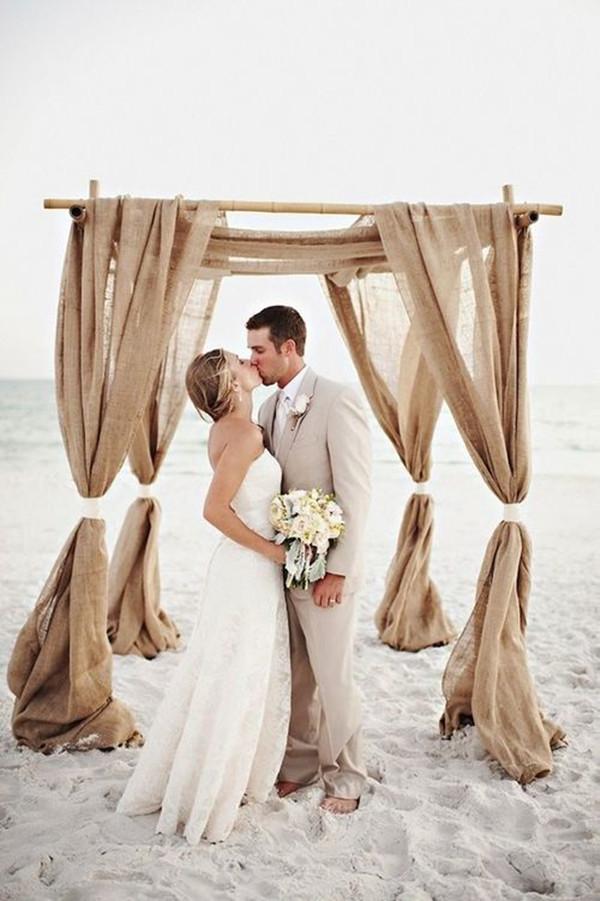 Simple Beach Wedding Ideas