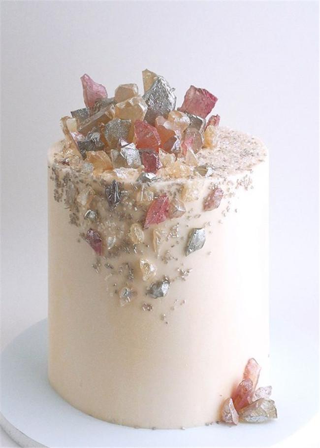 Heart Wedding Cake