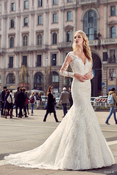 Eddy K. 2017 Wedding Dresses — Milano Bridal Collection ...