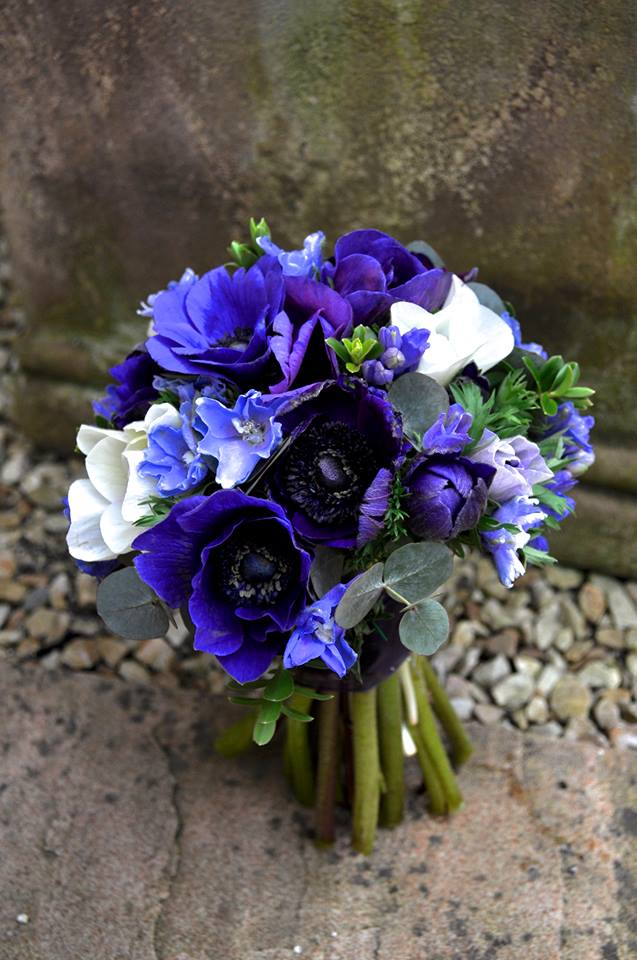 Fall Wedding Bouquets Blue