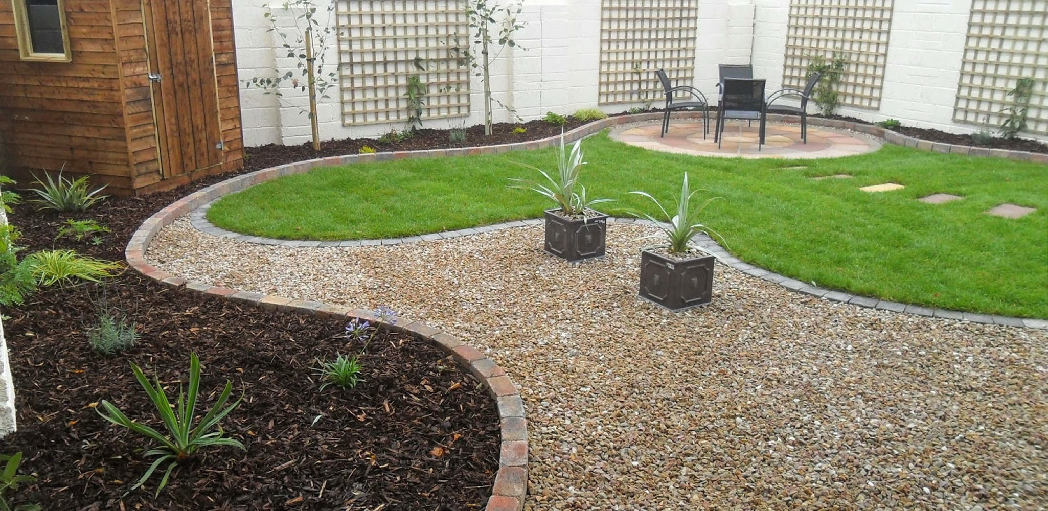 Large Garden Pebbles Stones