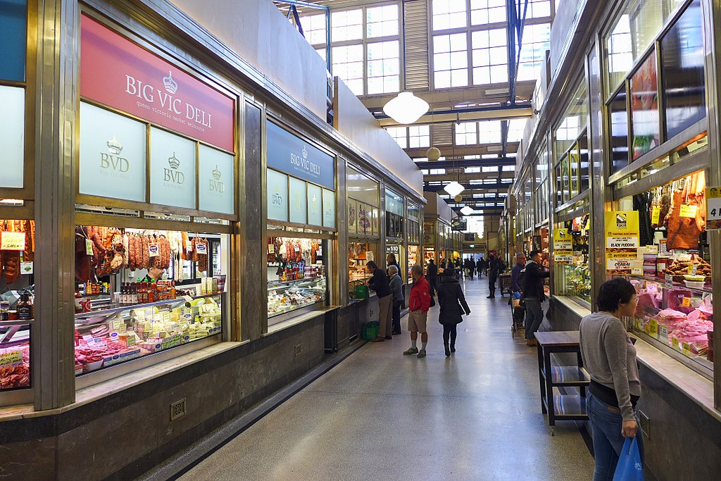 Queen Victoria Market In Melbourne Well Known Places